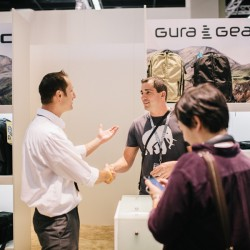 gura gear at hapateam booth at photokina 2014