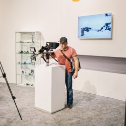 complete and impressive camera rig at walimex pro booth at photokina - hapateam