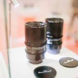 new brand handevision lens at photokina 2014 at hapateam booth