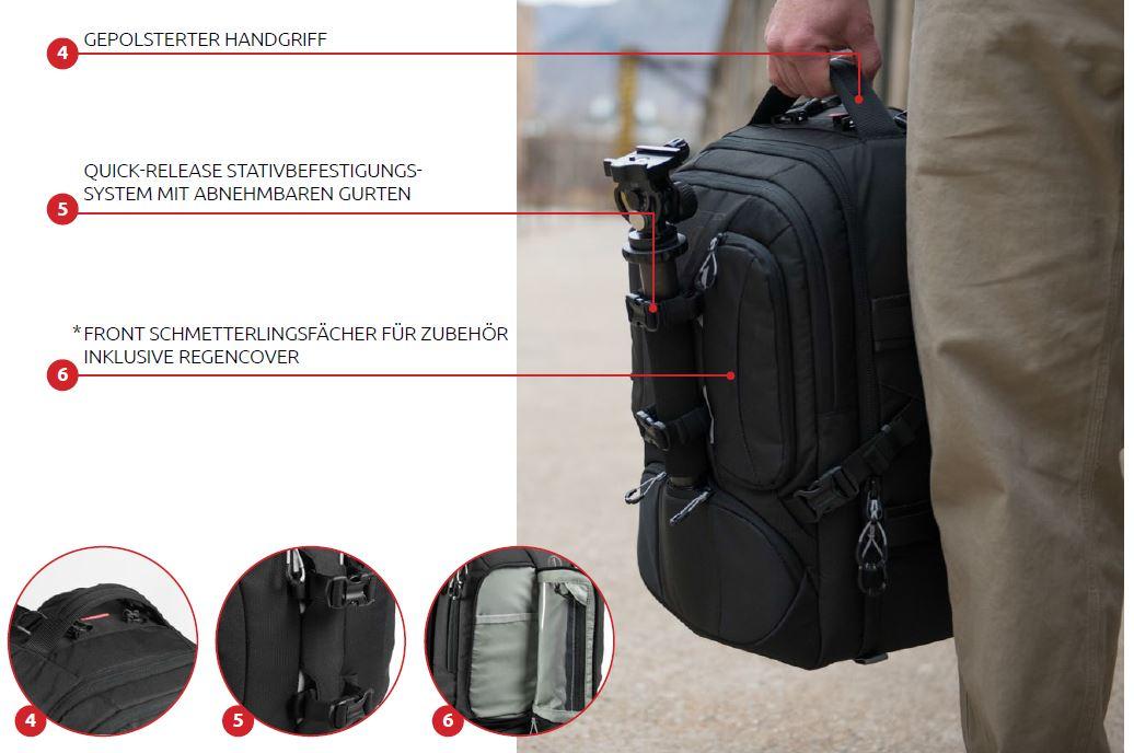 Profi Fototaschen Features