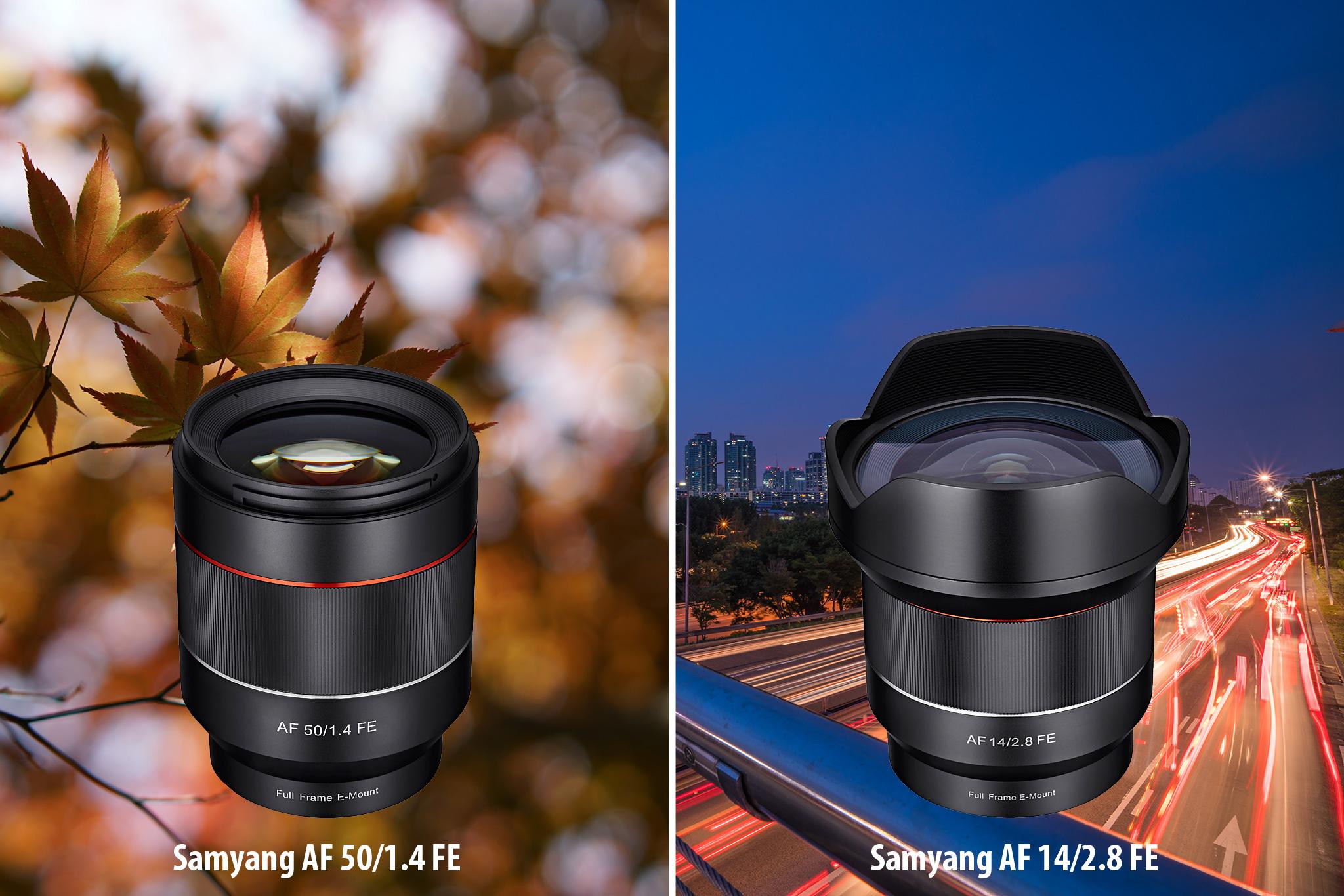 Samyang Autofokusobjektive - Hapa-Blog