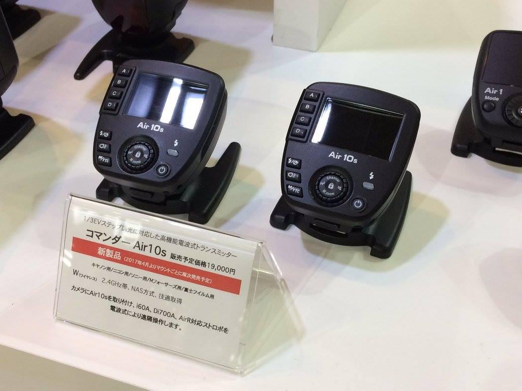Die Nissin Air 10s Funk-Blitzsteuerung auf der CP+ 2018 in Japan