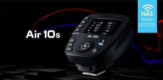 Die neue Nissin Air 10s Funk-Blitzsteuerung