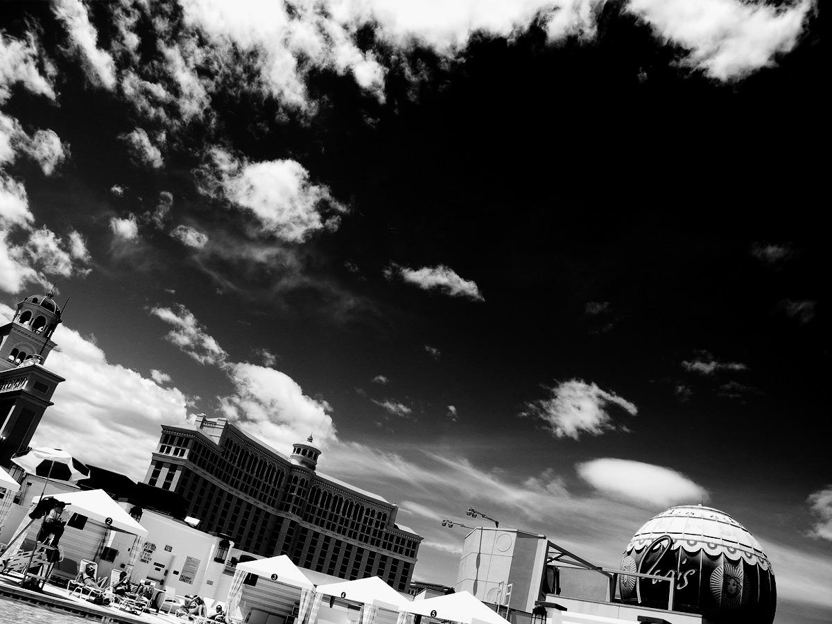 Die Struktur im bild, wie Wolken, ist entscheidend