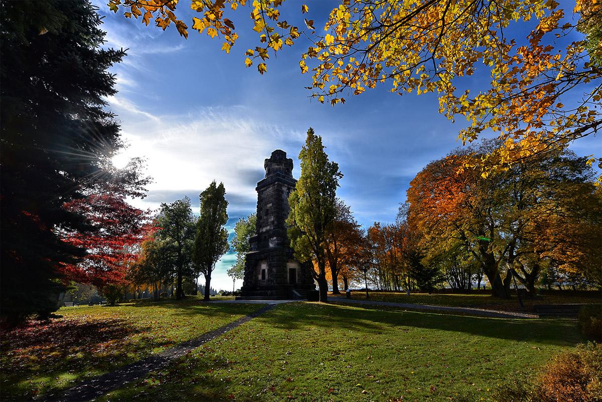 Herbst - Hochsaison für die Hoya Red Filter