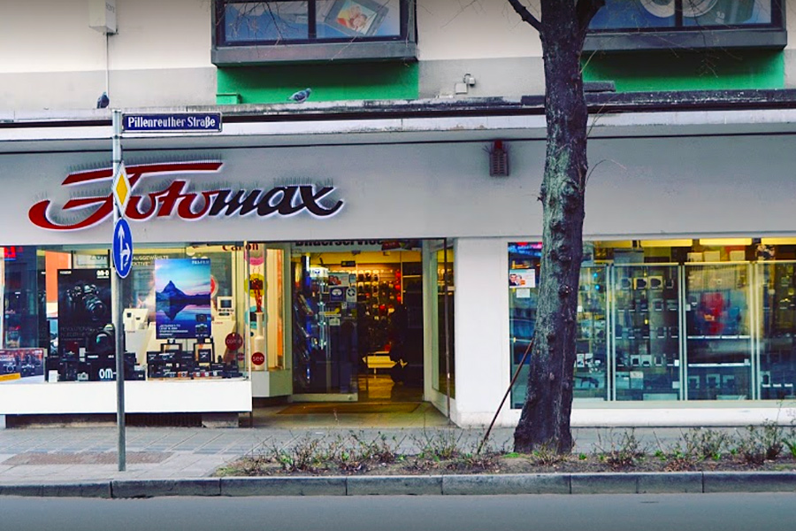 Das Fotomax-Ladenlokal in der Pillenreuther Straße 13 in Nürnberg