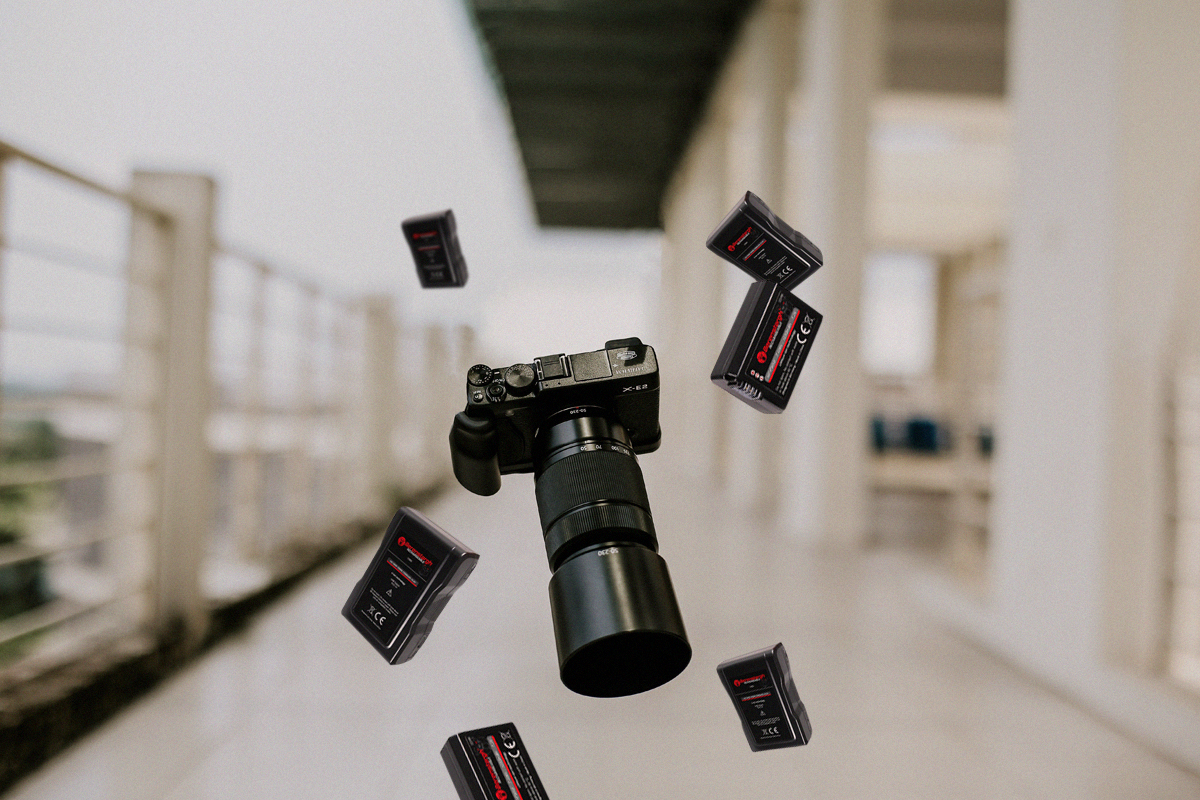 Akkus für alle Kameratypen, wie DSLR, Systemkameras etc.