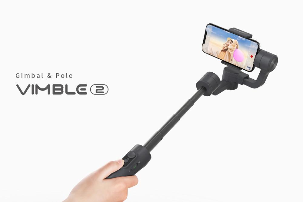 Teleskoparm für beeindruckende Aufnahmeperspektiven
