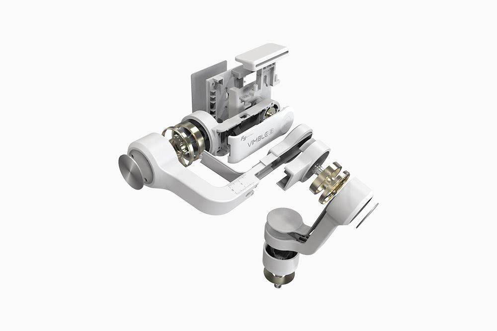 Hochsensibler, bürstenloser Motor für eine perfekte Bildstabilisierung