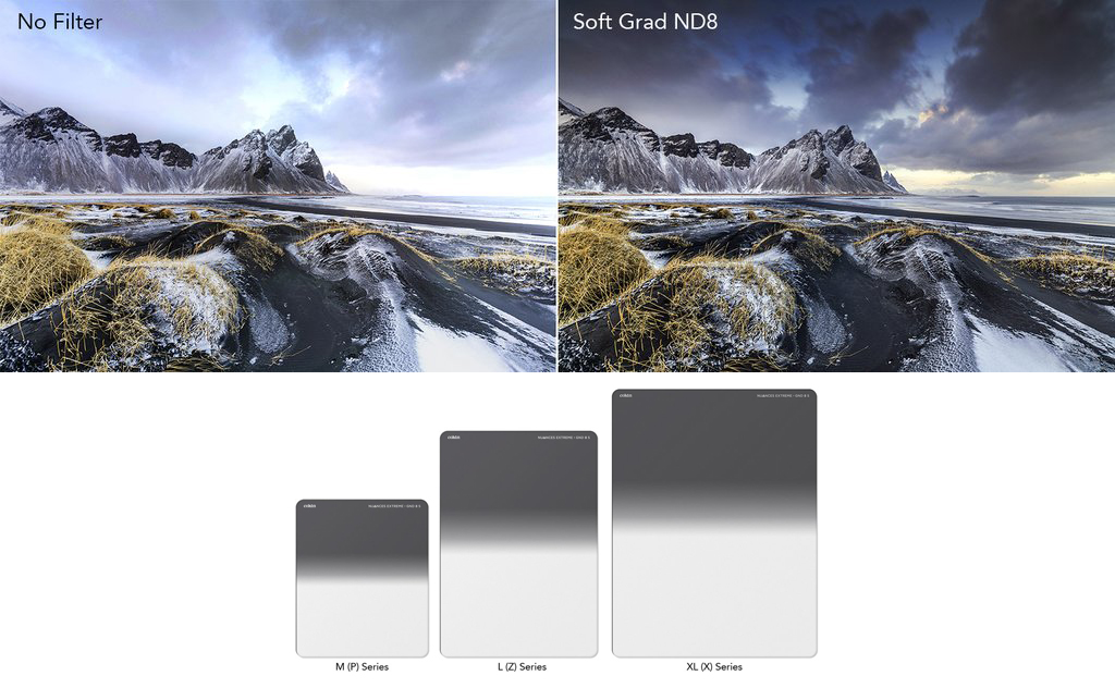 Cokin NUANCES Extreme Soft Graduated ND Filter
