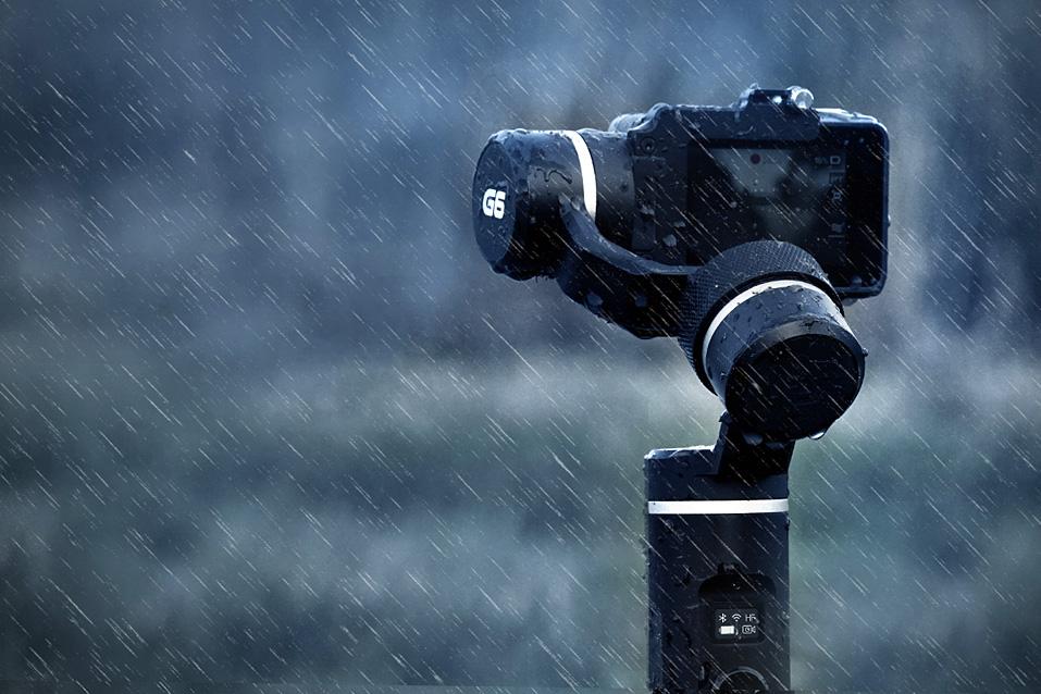 Das Feiyutech G6 ist spritzwassergeschützt und hochwertig verarbeitet