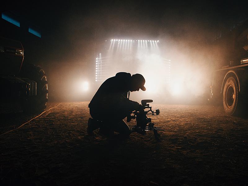 Hoya UV&IR Sperrfilter im Einsatz beim Filmen