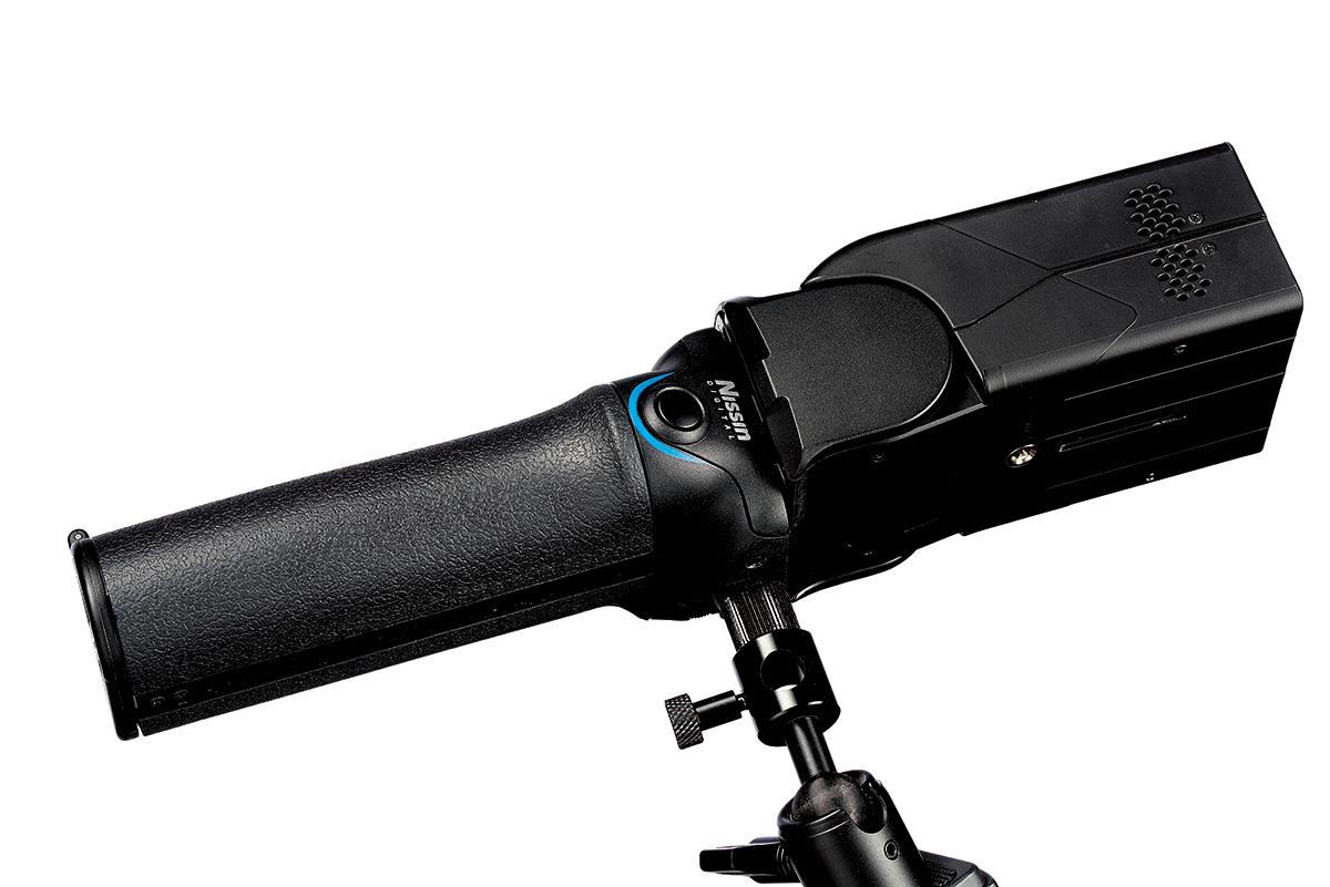 MG10 Blitz mit Kugelkopf zur Stativmontage