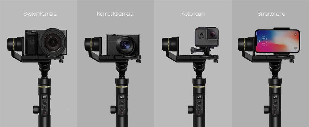 Vielseitiges All-in-One Gimbal - Das FeiyuTech G6 Plus
