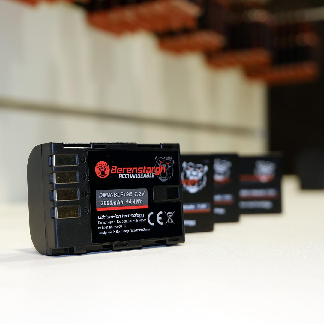 Berenstargh Akkus für deine Kamera und Blitz