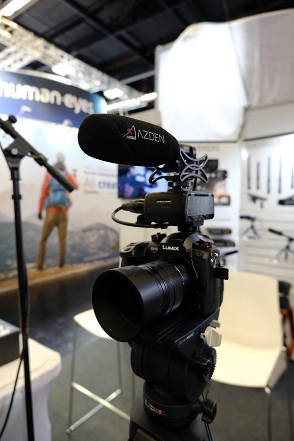 Azden Mikrofone und Zubehör für Filmer auf der photokina 2018