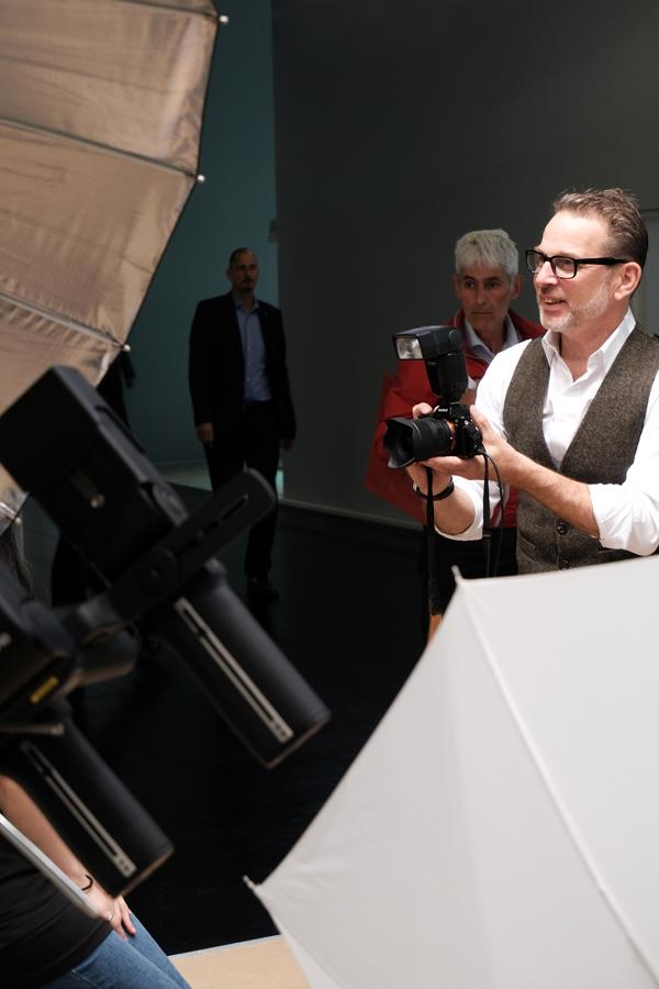 HapaTeam Blitz-Workshop mit Oliver Hadji am Nissin-Stand