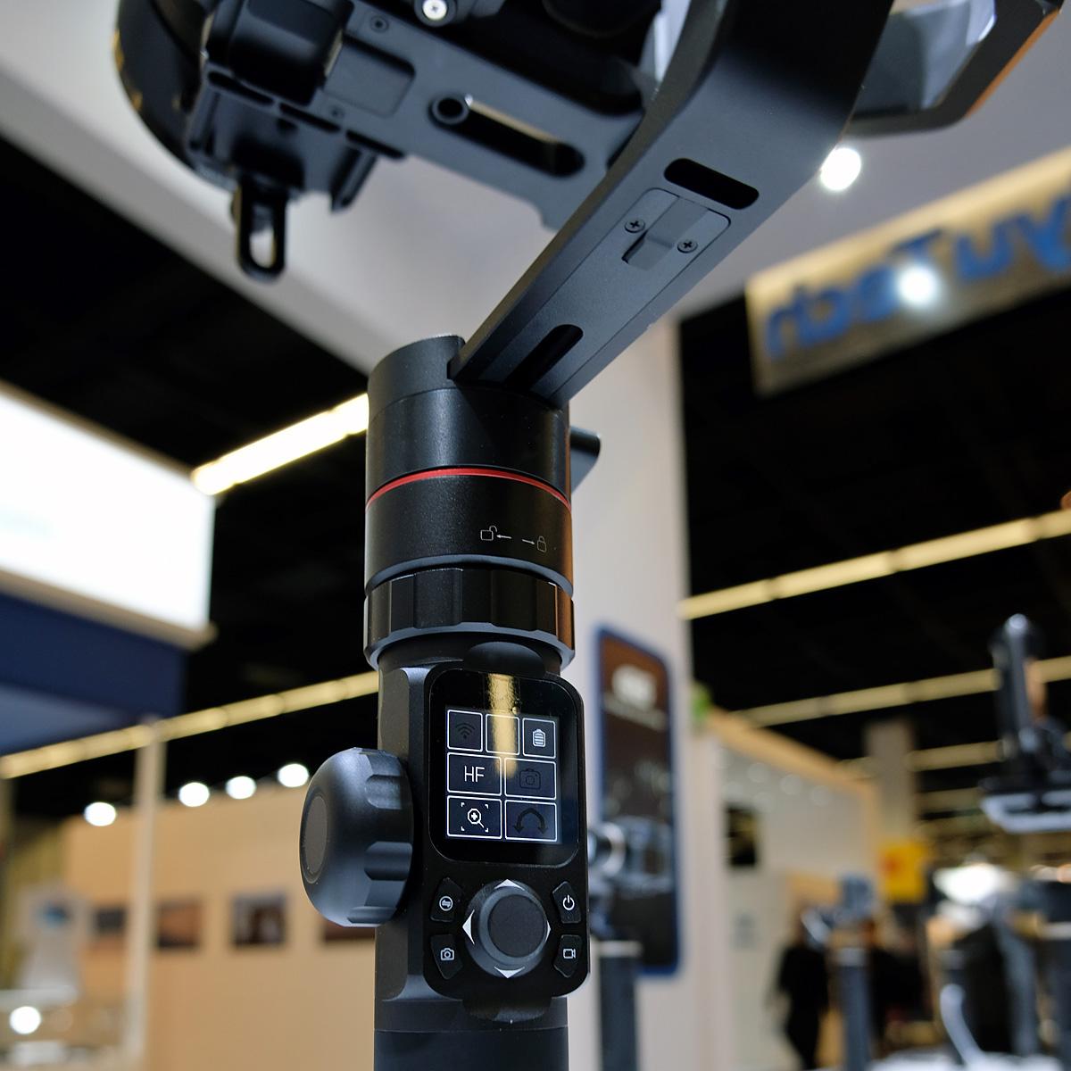 Touchdisplay der FeiyuTech AK2000 & AK4000 Gimbals