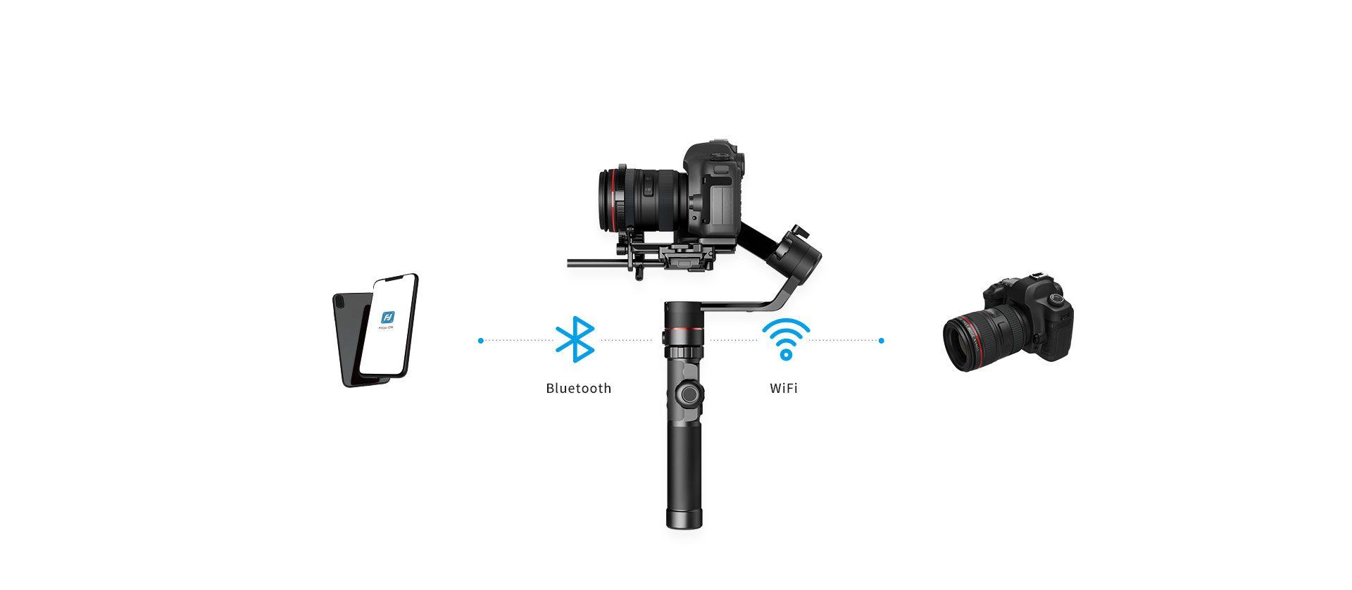 WLAN & Bluetooth der FeiyuTech AK2000 & AK4000 Gimbals