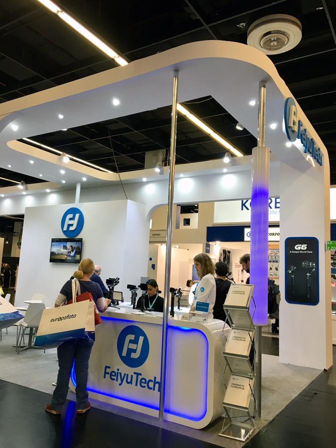 FeiyuTech Gimbals auf der photokina 2018