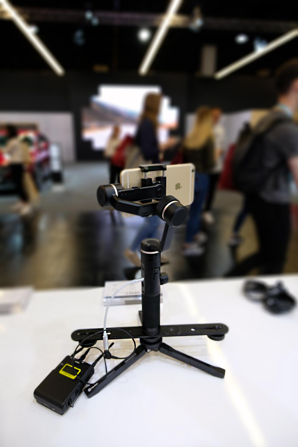 SPG 2 Gimbal mit Mikrofoneingang