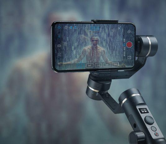Smartphone Gimbal mit Spritzwasser-geschützter Konstruktion