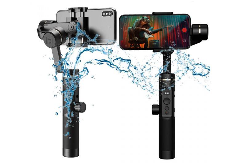 Spritzwassergeschützt: Das Feiyutech SPG2 Smartphonegimbal
