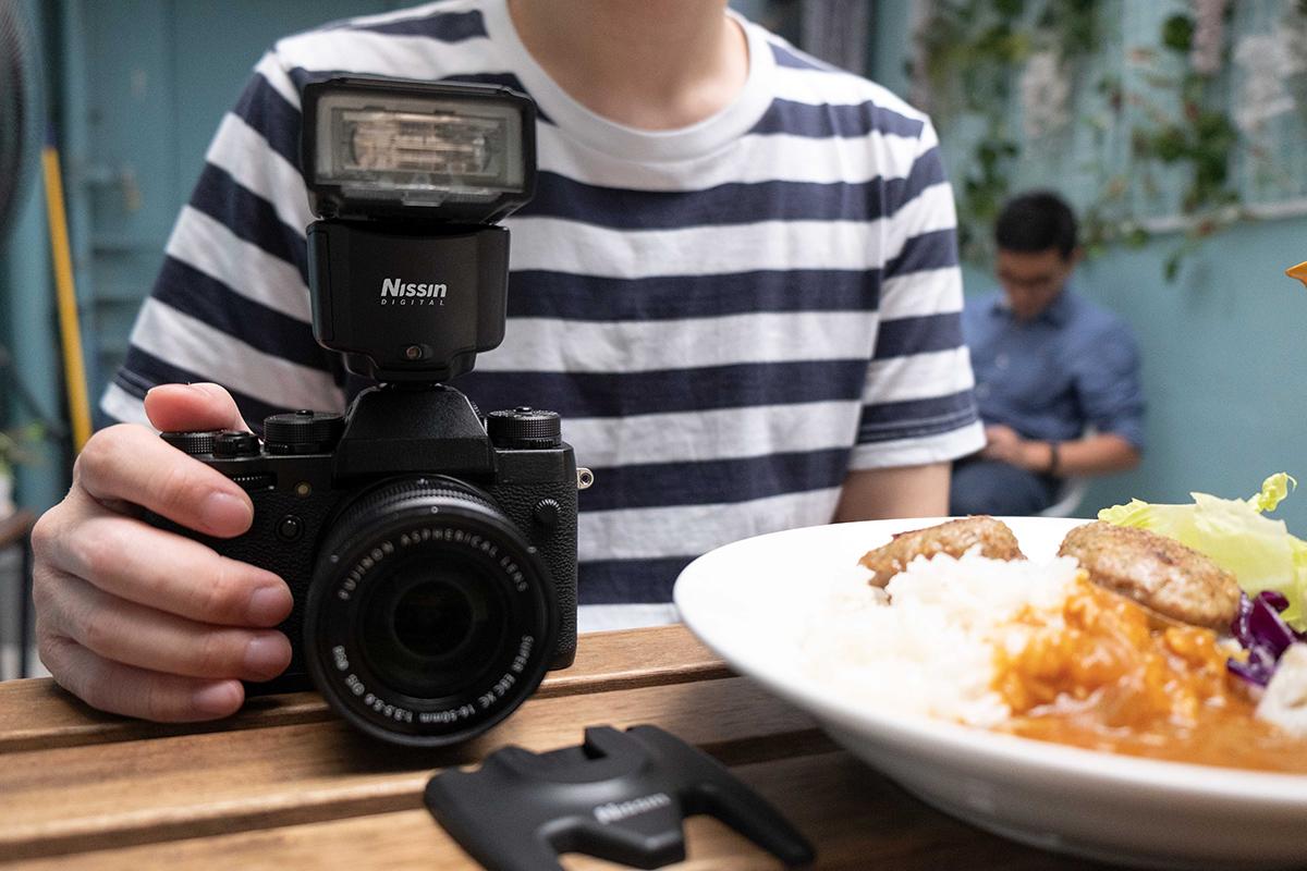 Foodfotografie mit dem Nissin i400 Blitz