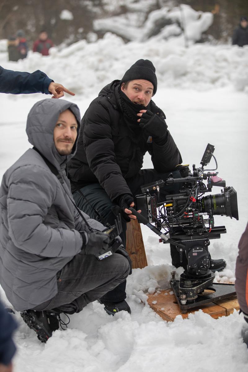Regisseur Ernst Wuger und Kameramann Alexander Dirninger