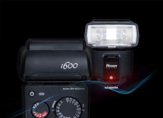 Nissin i600 Blitz - Kompakter, leistungsstarker Aufsteckblitz mit Leitzahl 60 und HSS-Sync