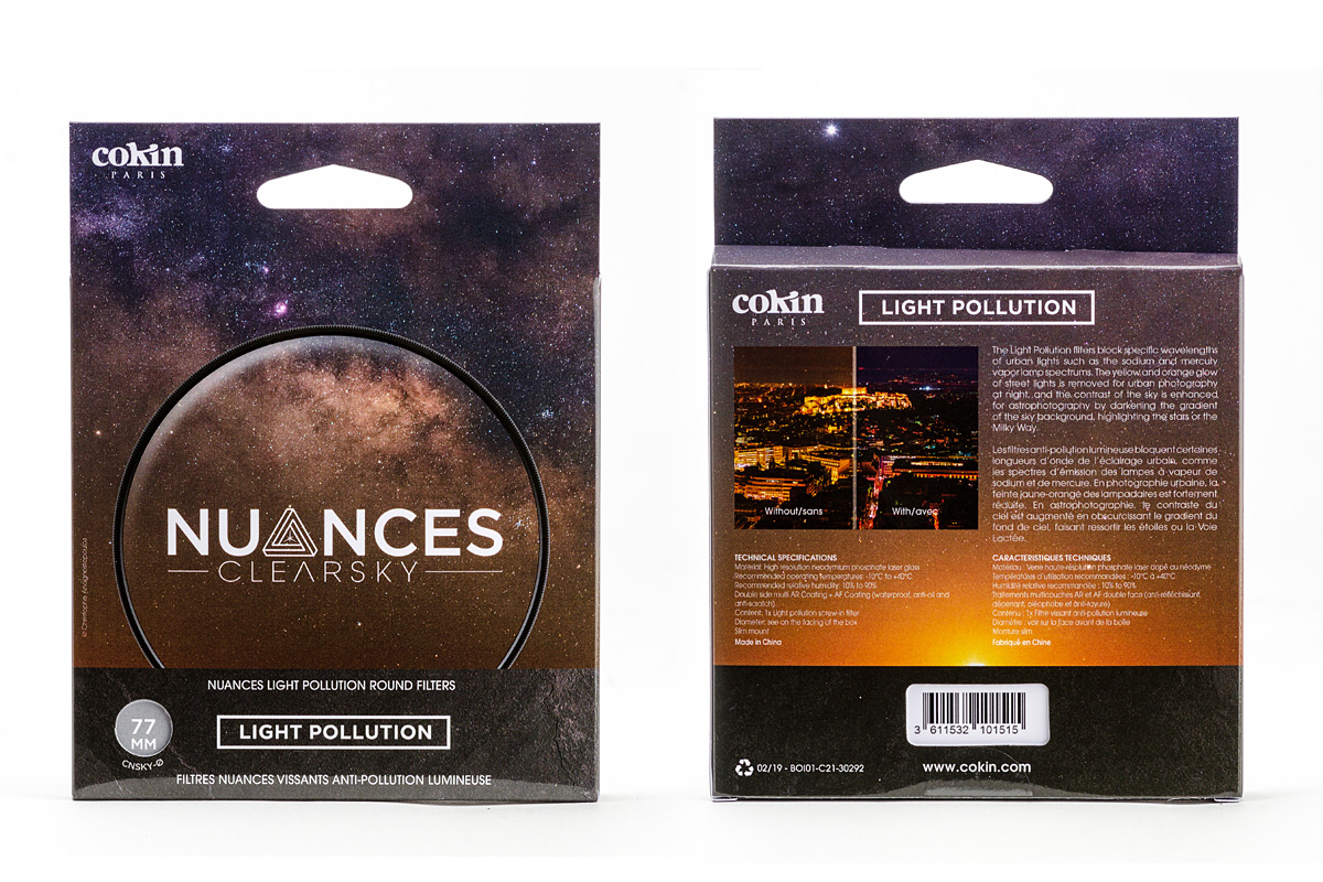 Vergleich: Cokin Nuances Light Pollution Filter