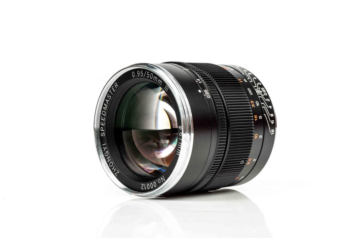 Neu: Mitakon Speedmaster 50mm f/0.95 III