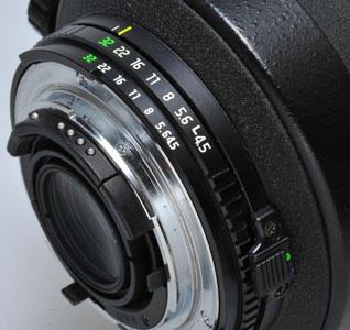 Nikon Blendenring