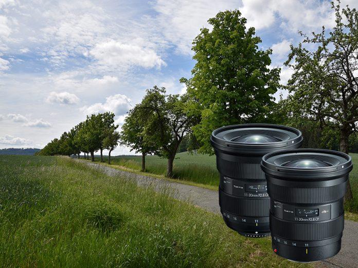 Das neue Tokina atx-i 11-20mm F2.8 CF Ultraweitwinkel-Zoomobjektiv