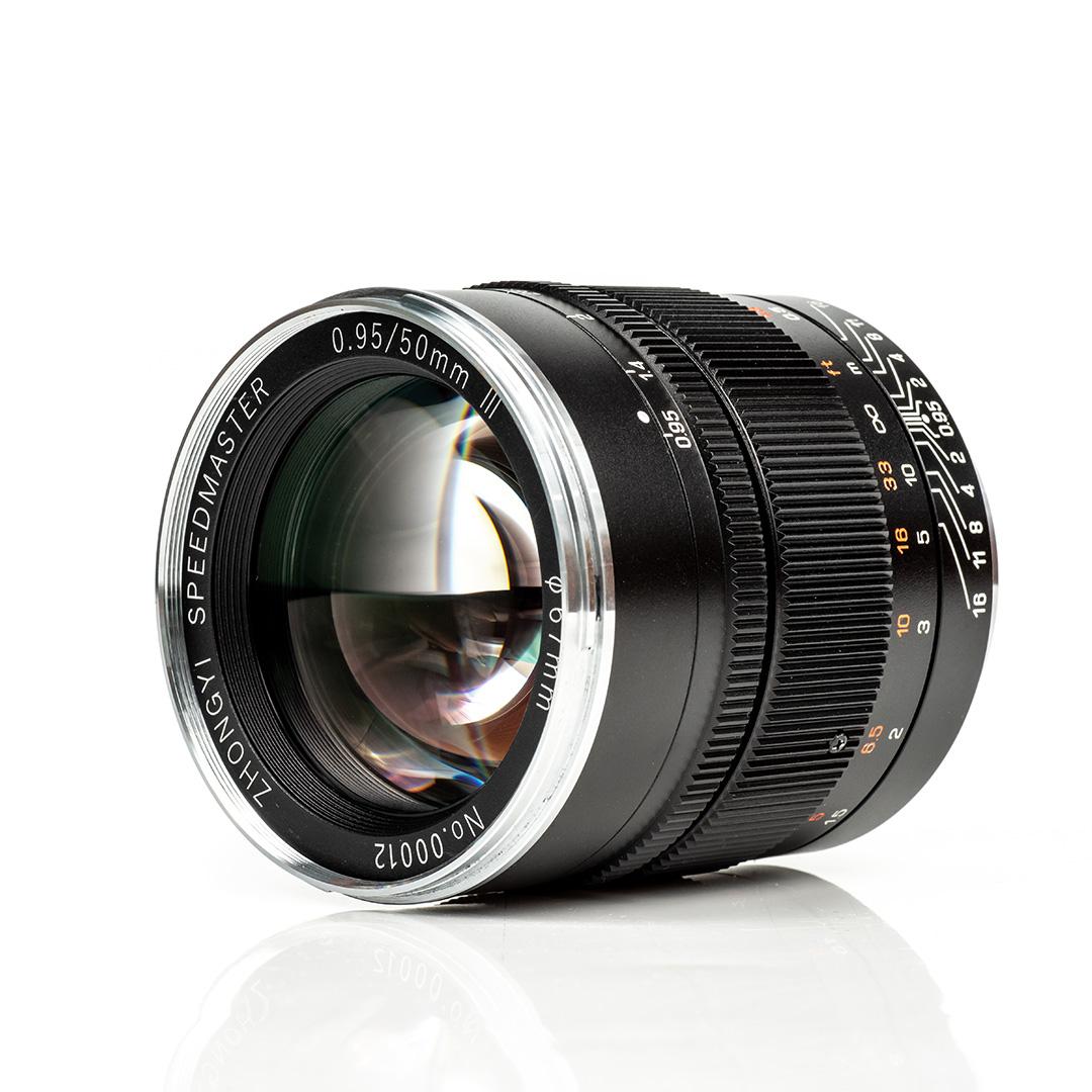 Das Zhongyi Mitakon Speedmaster 50mm f/0.95 Mark III für Canon EF Nutzer