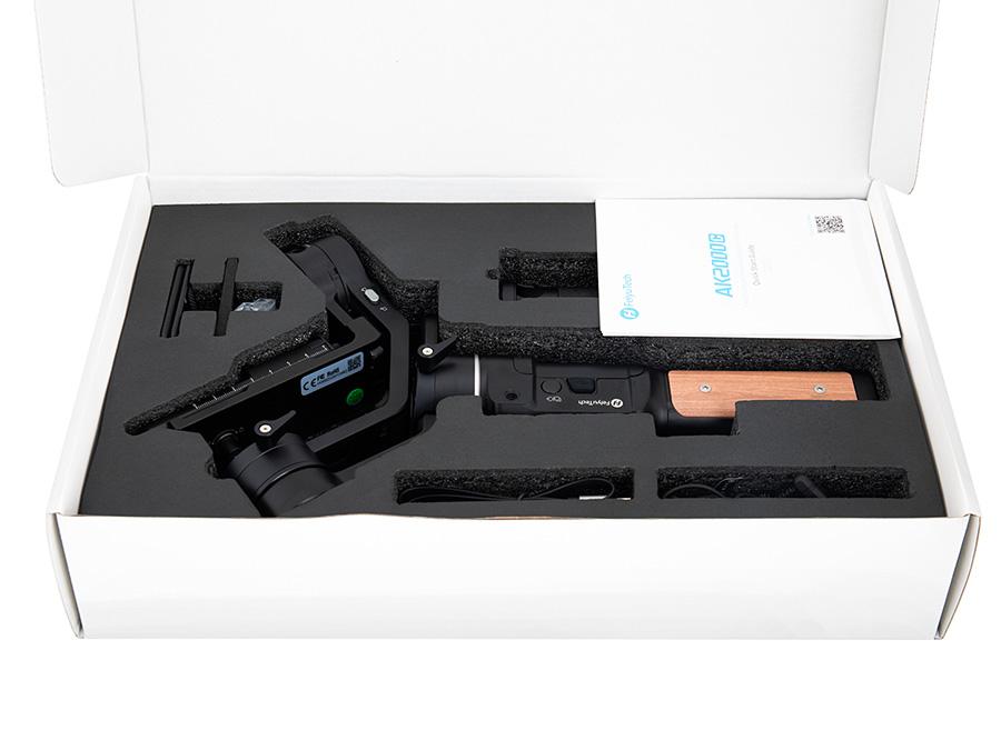 Feiyutech AK2000C, dreiachsiger Gimbal für anspruchsvolle Filmer