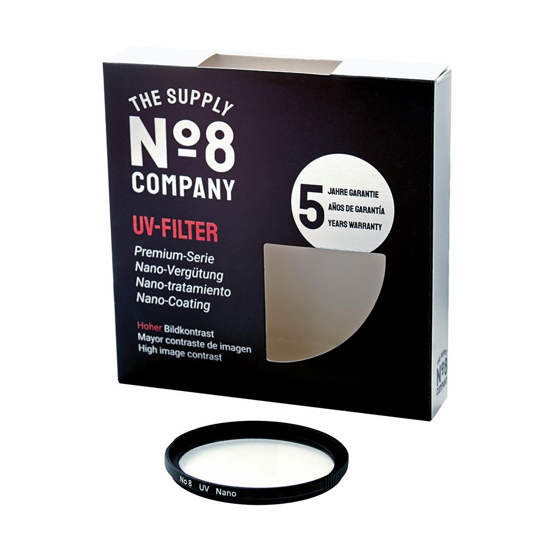 No8 Nano Multicoated POL SLIM Filter Filter - für hohe Brillanz und Kontraste