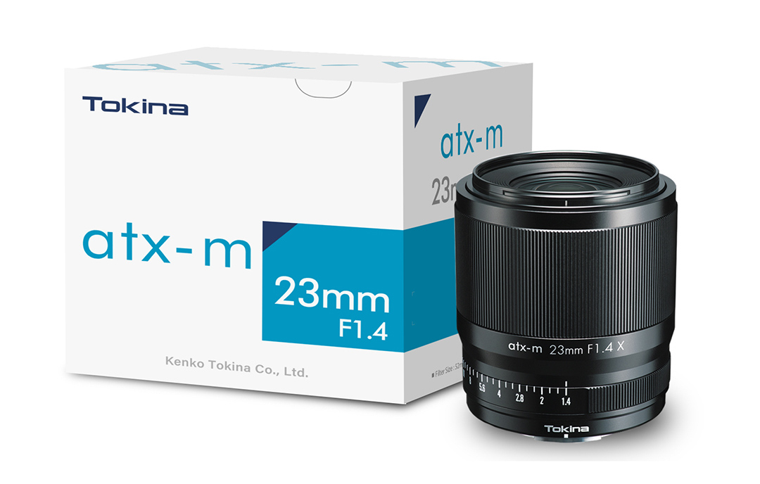 Tokina atx-m 23mm F1.4 X F1.4 X für Fuji X-Mount (APS-C)