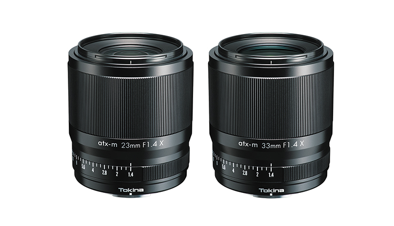Tokina atx-m 23 mm F1.4 X und atx-m 33 mm F1.4 X-Objektive für Fuji X-Mount (APS-C)